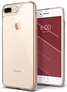 iPhone 8 Plus Case, / iPhone 7 Plus Case Caseology [Waterfall Series] Slim Clear Transparent Protective Air Space Technology for Apple iPhone 7 Plus (2016) / iPhone 8 Plus (2017) - Clear