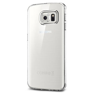 Spigen Liquid Crystal Galaxy S6 Edge Case with Slim Protection and Premium Clarity for Galaxy S6 Edge 2015 - Crystal Clear