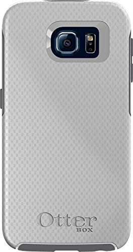 OtterBox SYMMETRY SERIES for Samsung Galaxy S6 - Retail Packaging - Carbon Fiber Metallic