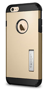 Spigen Tough Armor iPhone 6S Plus Case with Kickstand and Heavy Duty Air Cushion Technology Protection for iPhone 6S Plus / iPhone 6 Plus - Champagne Gold