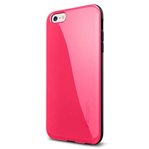 Spigen iPhone 6 Plus Case with Advanced Shock Absorption for iPhone 6S Plus / iPhone 6 Plus - Azalea Pink