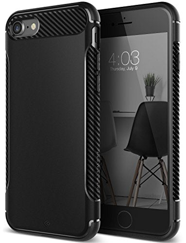 uk availability 87d54 b88dd iPhone 7 Case, iPhone 8 Case, Caseology [Vault I Series] Slim Protective  Shock Absorbing TPU Military-Grade Armor Corner Cushion Design for Apple ...