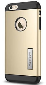 Spigen Slim Armor iPhone 6 Plus Case with Kickstand and Air Cushion Technology and Hybrid Drop Protection for iPhone 6S Plus / iPhone 6 Plus - S Champagne Gold