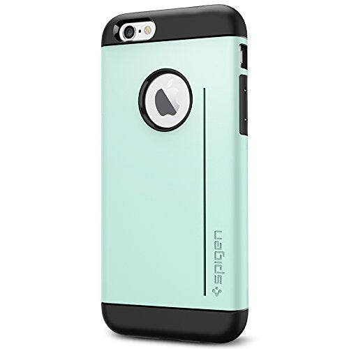 Spigen Slim Armor S iPhone 6 Case with Advanced Drop Protection and Dual Layer Design for iPhone 6S / iPhone 6 - S Mint