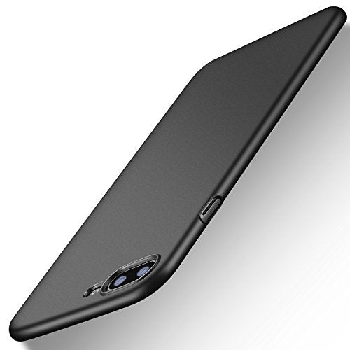 iPhone 7 Plus Case, TORRAS Slim Fit Shell Hard Plastic Full Protective Anti-Scratch Resistant Cover Case for Apple iPhone 7 Plus (2016) / iPhone 8 Plus (2017)-Space Black