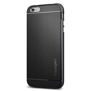 the best attitude 7126f 955c7 Spigen Neo Hybrid iPhone 6S Plus Case with Flexible Inner Protection and  Reinforced Hard Bumper Frame for iPhone 6S Plus / iPhone 6 Plus - Metal  Slate