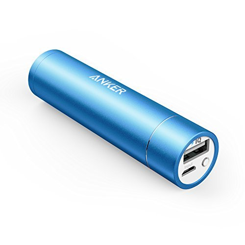 Anker PowerCore+ mini, 3350mAh Lipstick-Sized Portable Charger (3rd  Generation, Premium Aluminum Power Bank), One of the Most Compact External