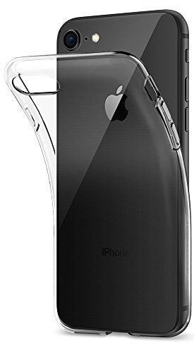outlet store 9a7c5 163d6 Spigen Liquid Crystal [2nd Generation] iPhone 8 Case / iPhone 7 Case with  Slim Protection and Premium Clarity for Apple iPhone 8 (2017) / iPhone 7 ...