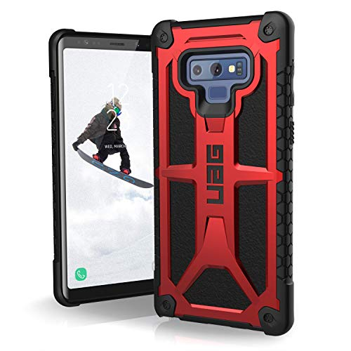 URBAN ARMOR GEAR UAG Samsung Galaxy Note 9 Monarch Feather-Light Rugged [Crimson] Military Drop Tested Phone Case