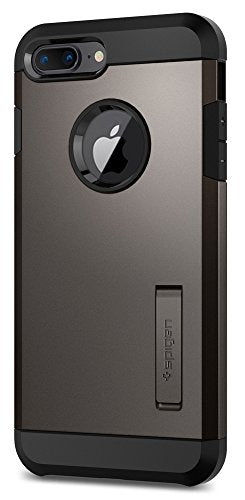 finest selection e1a3c 49604 Spigen Tough Armor [2nd Generation] iPhone 8 Plus Case / iPhone 7 Plus Case  with Kickstand Air Cushion Technology for Apple iPhone 8 Plus (2017) / ...