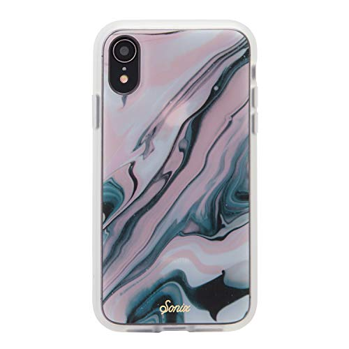 iPhone XR, Sonix Blush Quartz Cell Phone Case [Military Drop Test Certified] Luxe Marble Series for Apple (6.1