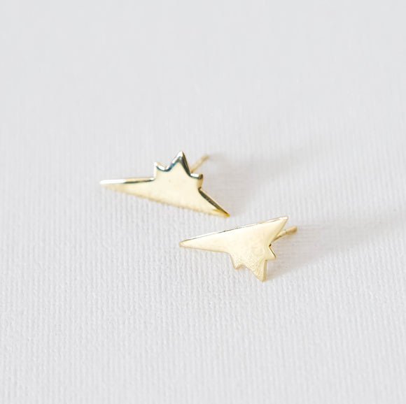 shotting star earrings small