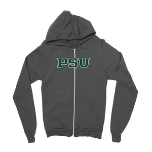 Official NCAA Portland State University Vikings - PPPOR05 Mens / womens Boyfriend Zip Hoodie