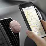 Spigen Kuel A200 Car Phone Mount Magnetic Air Vent Phone Holder QNMP Compatible & with iPhone X / 8 / 8 plus / 7 / 7 Plus / 6S / 6S Plus / Galaxy Note 8 / S8 / S8 Plus / S7 Edge & More - Pink Sand