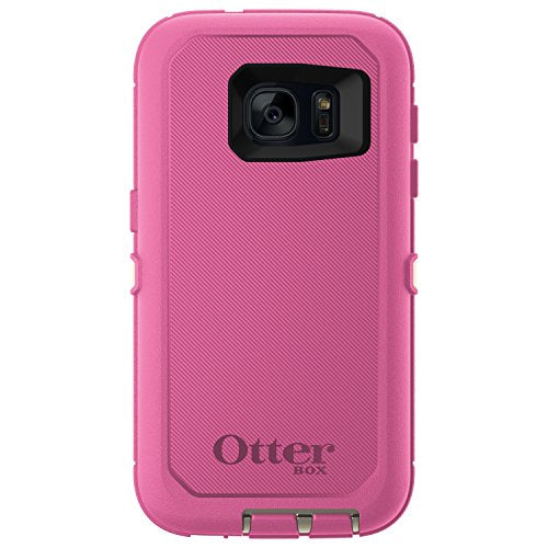 OtterBox DEFENDER SERIES Case for Samsung Galaxy S7 - Retail Packaging - BERRIES N CREAM (SAND/HIBISCUS PINK)