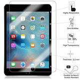 TANTEK Anti-Scratch, Anti-Glare, Anti-Fingerprint and Bubble- Tempered Glass Screen Protector for 7.9-Inch iPad Mini 1/2/3 - Clear (2-Pack)