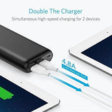 Anker 20000mAh Portable Charger PowerCore 20100 - Ultra High Capacity Power Bank with 4.8A Output, PowerIQ Technology for iPhone, iPad & Samsung Galaxy & More – Black
