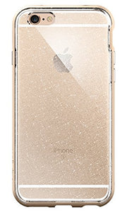 Spigen Neo Hybrid iPhone 6s Case with Flexible Inner Bumper and Reinforced Hard Frame for iPhone 6s/6 - Glitter Champagne Gold