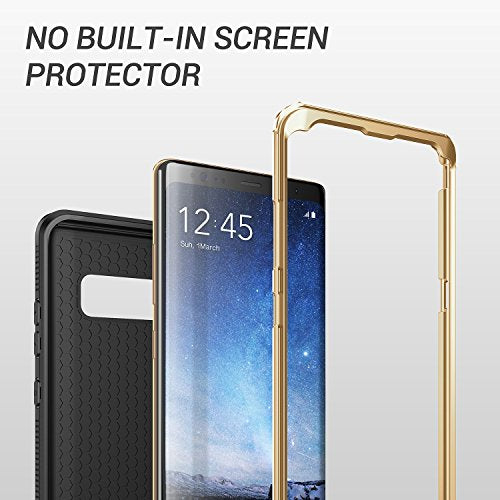 reputable site 0f8b1 4849a Galaxy Note 8 Case, YOUMAKER Full Body Heavy Duty Protection Shockproof  Slim Fit Case Cover for Samsung Galaxy Note 8 (2017 Release) WITHOUT  Built-in ...