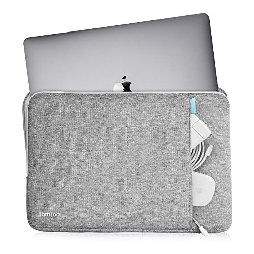 uk availability 7da09 2e314 Tomtoc 360° Protective Laptop Sleeve for 12 Inch New MacBook with Retina  Display, Shockproof, Spill-Resistant 12 Inch MacBook Case Tablet Sleeve, ...