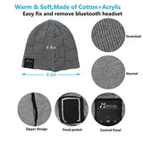 Bluetooth Beanie Music Hat ,Coeuspow Smart 4.1 Wireless Bluetooth Beanie Hat , Soft Warm Beanie Hat with Built-in Microphone and HD Stereo , Hand-free Calling & Listen to Music Outdoor in Winter