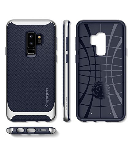 timeless design c2019 c20e8 Spigen Neo Hybrid Galaxy S9 Plus Case with Flexible Herringbone Pattern  Protection and Reinforced Hard Bumper Frame for Samsung Galaxy S9 Plus  (2018) ...