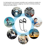 Bluetooth Headphones, CHSMONB Best Wireless Sports Headset In-Ear Wireless Earphones Sweatproof Workout Earbuds Stereo with Mic Bass Noise Cancelling for Gym Running Workout.