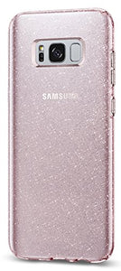 Spigen Liquid Crystal Glitter Galaxy S8 Plus Case with Slim Protection and Premium Clarity for Galaxy S8 Plus (2017) - Rose Quartz