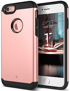 iPhone 6S Case, iPhone 6 Case, Caseology [Legion Series] Slim Dual Layer Heavy Duty Protection Corner Cushion Design [Rose Gold] for Apple iPhone 6S (2015) & iPhone 6 (2014)
