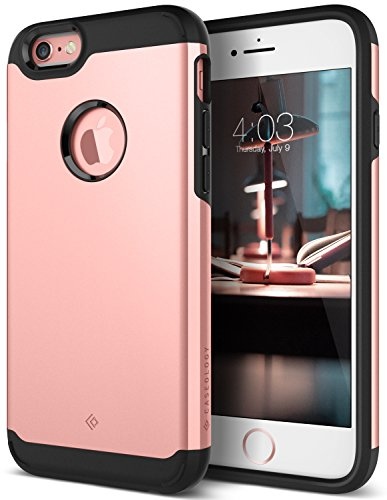 iPhone 6S Plus Case, iPhone 6 Plus Case, Caseology [Legion Series] Slim Dual Layer Heavy Duty Protection Corner Cushion Design [Rose Gold] for Apple iPhone 6S Plus (2015) / iPhone 6 Plus (2014)