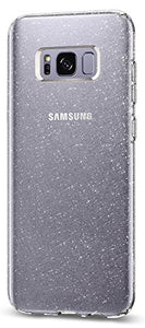 Spigen Liquid Crystal Glitter Galaxy S8 Case with Slim Protection and Premium Clarity for Samsung Galaxy S8 (2017) - Crystal Quartz