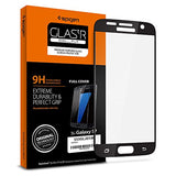 Spigen Full Cover Glass Galaxy S7 Screen Protector / Not Case Friendly / Tempered Glass for Samsung Galaxy S7 - Black