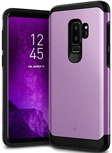 Galaxy S9 Plus Case, Caseology [Legion Series] Slim Heavy Duty Protection Dual Layer Armor Cover for Samsung Galaxy S9 Plus (2018) - Lilac Purple