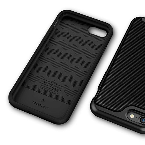 competitive price 333d7 503fb iPhone 8 Case / iPhone 7 Case Caseology [Envoy Series] Slim Premium PU  Leather Dual Layer Protective Corner Cushion Design for Apple iPhone 7  (2016) / ...