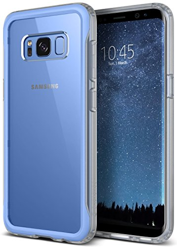 Galaxy S8 Case, Caseology [Coastline Series] Transparent Clear Slim Protective Scratch Resistant Air Space Technology Frosted Frame [Blue Coral] for Samsung Galaxy S8 (2017)