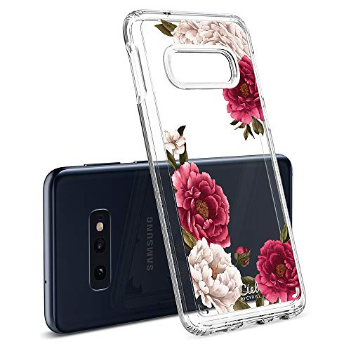 Ciel by CYRILL [Cecile Collection] Designed for Samsung Galaxy S10e (2019) Case - Red Floral