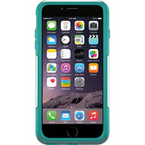 "OtterBox COMMUTER SERIES Case for iPhone 6 Plus/6s Plus (5.5"" Version) - Frustration Packaging - AQUA SKY (AQUA BLUE/LIGHT TEAL)"