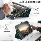MoKo Case for All-New Amazon Fire HD 8 Tablet (7th Generation, 2017 Release Only) - Slim Folding Stand Cover for Fire HD 8, City Night View (with Auto Wake / Sleep)