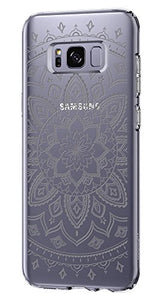 Spigen Liquid Crystal Galaxy S8 Case with Slim Protection and Premium Clarity for Samsung Galaxy S8 (2017) - Shine Crystal Clear