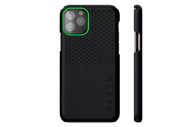 Razer Arctech Slim for iPhone 11 Pro Case: Thermaphene & Venting Performance Cooling - Wireless Charging Compatible - Matte Black