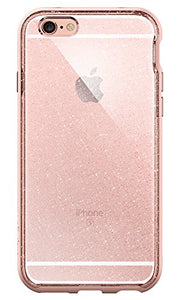 Spigen Neo Hybrid EX iPhone 6s Case with Flexible Inner Bumper and Reinforced Hard Frame for iPhone 6s/6 - Glitter Rose Gold