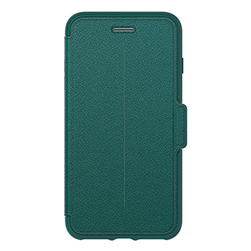 OtterBox STRADA SERIES Case for iPhone 8 Plus & iPhone 7 Plus (ONLY) - Retail Packaging - PACIFIC OPAL (DEEP TEAL/DEEP TEAL LEATHER)