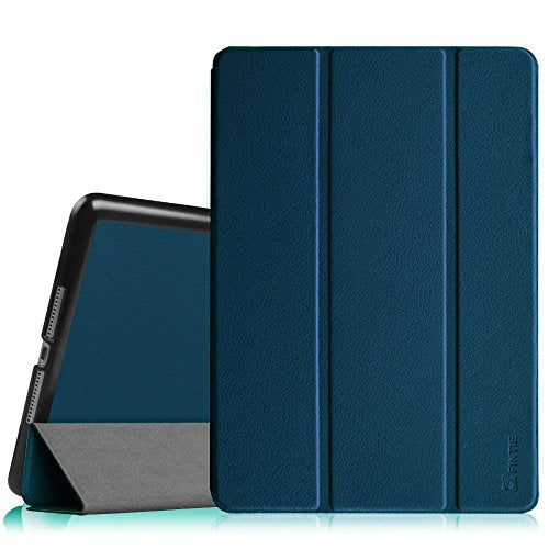 Fintie iPad Air 2 Case - [SlimShell] Ultra Lightweight Stand Smart Protective Cover with Auto Sleep/Wake Feature for Apple iPad Air 2, Navy