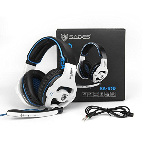 ba2890c157c ... [Latest Version Xbox one Gaming Headset] SADES SA810 Over Ear Stereo  Gaming Headset with