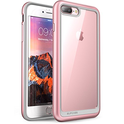 iPhone 7 Plus Case, iPhone 8 Plus Case, SUPCASE Unicorn Beetle Style Premium Hybrid Protective Clear Case for Apple iPhone 7 Plus 2016 / iPhone 8 Plus 2017 (RoseGold)
