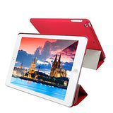 iPad Air Case, JETech Case Cover for Apple iPad Air 2013 Model with Auto Sleep / Wake Feature (Red) - 0466