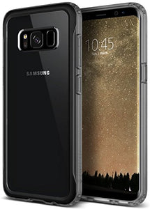 Galaxy S8 Case, Caseology [Coastline Series] Transparent Clear Slim Protective Scratch Resistant Air Space Technology Frosted Frame [Frost Gray] for Samsung Galaxy S8 (2017)