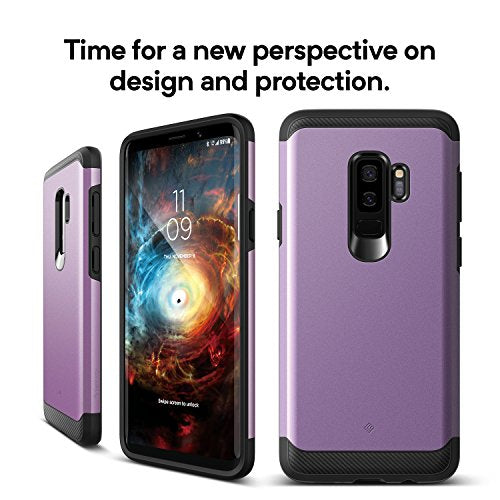 best service 160dd bed60 Galaxy S9 Plus Case, Caseology [Legion Series] Slim Heavy Duty Protection  Dual Layer Armor Cover for Samsung Galaxy S9 Plus (2018) - Lilac Purple