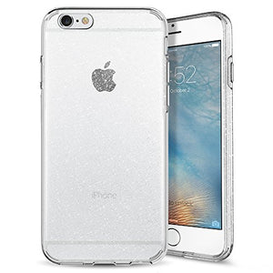 Spigen Liquid Crystal iPhone 6s Case with Slim Protection and Premium Clarity for iPhone 6s/6 - Glitter Crystal Quartz