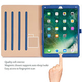 Apple iPad Pro 12.9 Case - ProCase Leather Stand Folio Case Cover for iPad Pro 12.9 Inch (Both 2017 and 2015 Models), with Multiple Viewing Angles, Auto Sleep/Wake, Apple Pencil Holder -Navy Blue